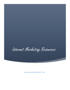 Internet Marketing Resources