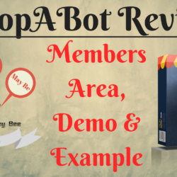 Shopabot Review, Members Area, Demo